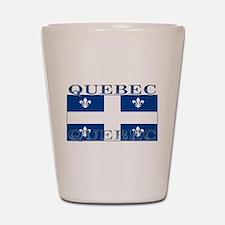 Quebec Quebecer Flag Shot Glass