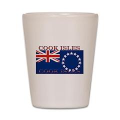 Cook Islands Shot Glass