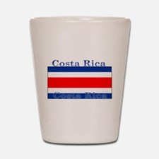Costa Rica Costa Rican Flag Shot Glass