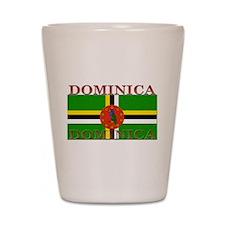 Dominica Shot Glass