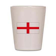 England English Flag Shot Glass
