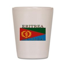 Eritrea Shot Glass