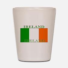 Ireland Irish Flag Shot Glass