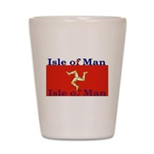 Isle of Man Shot Glass