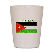 Jordan Jordanian Flag Shot Glass