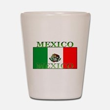 Mexico Mexican Flag Shot Glass