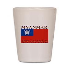 Myanmar Shot Glass