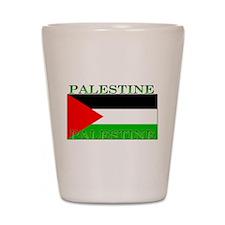 Palestine Palestinian Flag Shot Glass