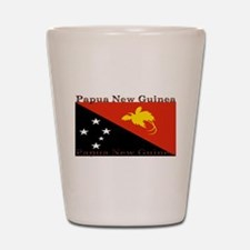Papua New Guinea Shot Glass