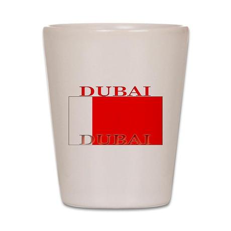 Dubai Flag Shot Glass