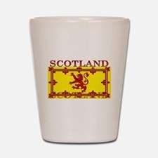 Scotland Scottish Flag Shot Glass