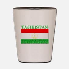 Tajikistan Tajikistani Flag Shot Glass