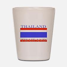 Thailand Thai Flag Shot Glass