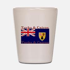 Turks & Caicos Shot Glass
