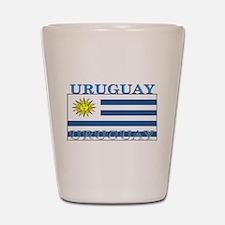 Uruguay Uruguayan Flag Shot Glass