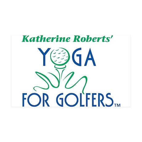 Yoga For Golfers 38.5 x 24.5 Wall Peel