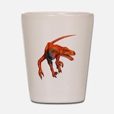 Velociraptor Raptor Dinosaur Shot Glass