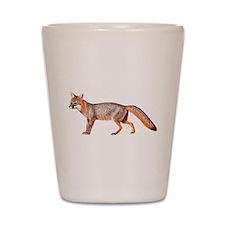 Gray Fox Animal Lover Shot Glass