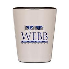 Webb Building Shot Glass