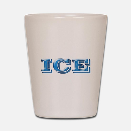 ICE Cold Smooth Shot Glass
