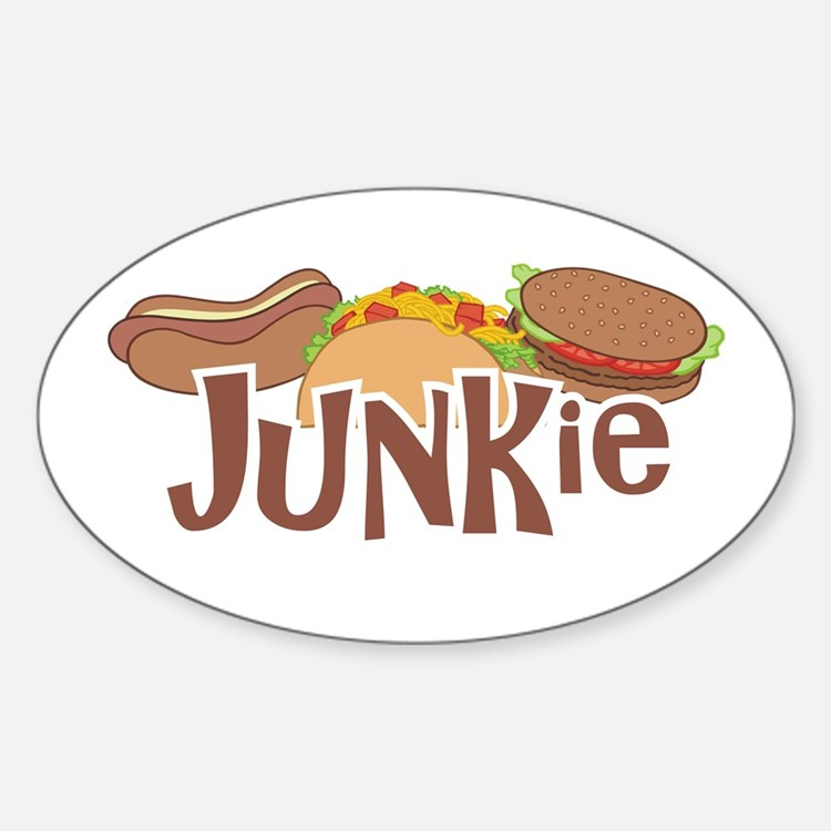 Fast Food Junkie Decal
