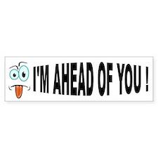 AM I STUPID? Bumper Sticker