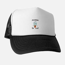 AM I STUPID? Trucker Hat