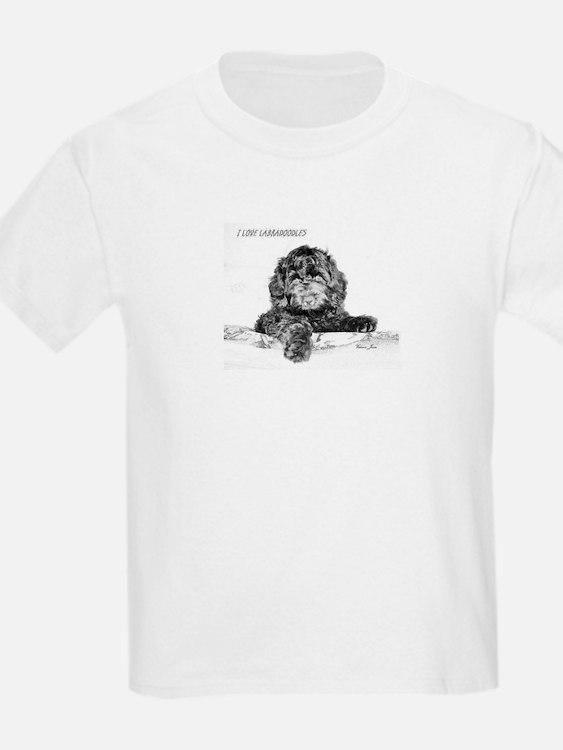 Cute I love labradoodles T-Shirt