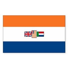 South Africa Flag Rectangle Decal