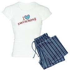 I heart (love) Swimming Pajamas
