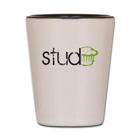 Stud Muffin -- Shot Glass