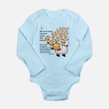 Strayed away like sheep Long Sleeve Infant Bodysui