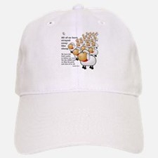 Strayed away like sheep Baseball Baseball Cap