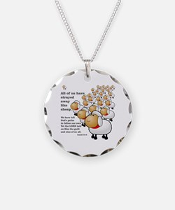 Strayed away like sheep Necklace