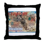 Chain Off 2011 Throw Pillow