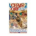 Chain Off 2011 Sticker (Rectangle 50 pk)