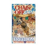 Chain Off 2011 Sticker (Rectangle 10 pk)