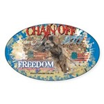 Chain Off 2011 Sticker (Oval 50 pk)