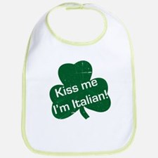 Kiss Me I'm Italian -- Bib