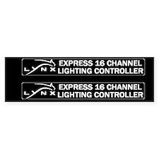 Lynx Express 2up Sticker (Bumper)