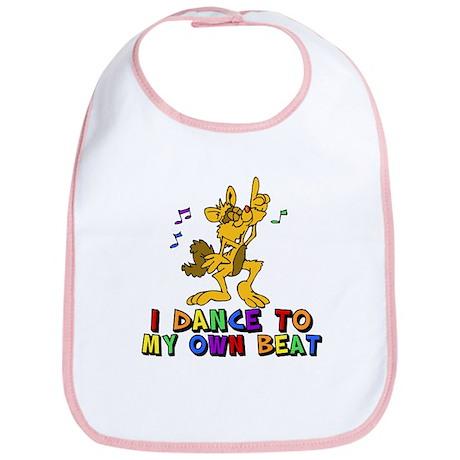 Dancing Cat Bib