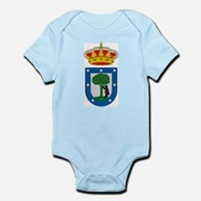 Madrid Coat of Arms Infant Creeper