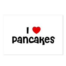 I * Pancakes Postcards (Package of 8)