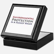 Environmental Protection Keepsake Box