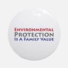 Environmental Protection Ornament (Round)