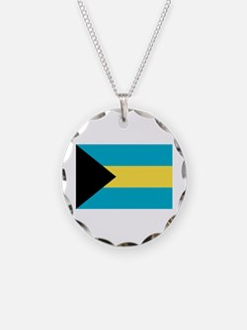 Bahamian Flag Necklace