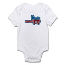 Smartass Democrat -- Infant Bodysuit