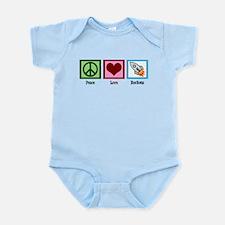 Peace Love Rockets Infant Bodysuit