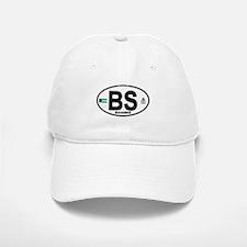 Bahamas Euro Oval Baseball Baseball Cap