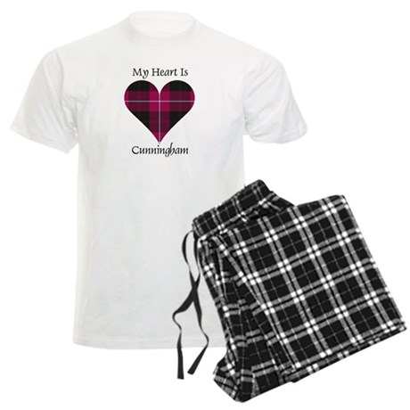 Heart - Cunningham Men's Light Pajamas